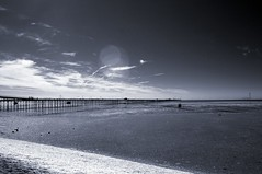 Southend Pier in IR (Dave Mills) Tags: d50 ir southend lg25 fcsea