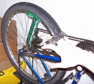 Bicicleta Con Luz (Leds)