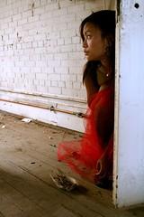 Two Birds, One Stone (Kay O. Sweaver) Tags: portrait calgary girl model cristina urbanexploration mescaline mescalero