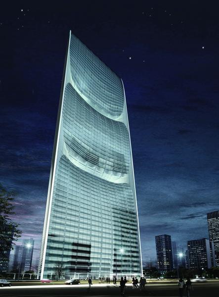 10. Yunrun International Tower from Huai'An.  309m - 71 этаж.