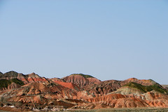 Finger-Like Colorful Hills
