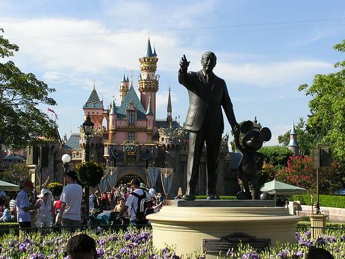 Walt + Mickey + Castle