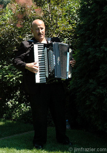 Garden Party Tip #42 - Always hire an accordian player