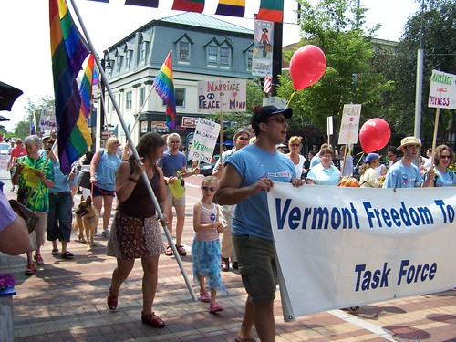 vermont Connecticut started to recognize gay marriages today.