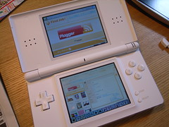 NINTENDO DS BROWSER by shrk, on Flickr
