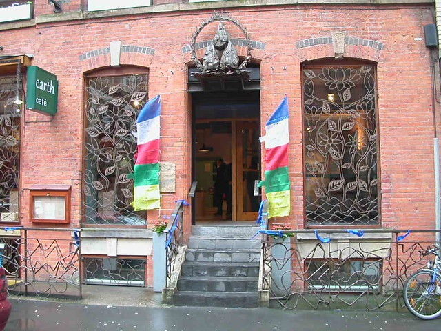 Manchester Buddhist Centre entrance 2