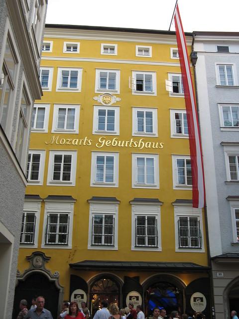 Mozart Birth House, Salzburg, Austria