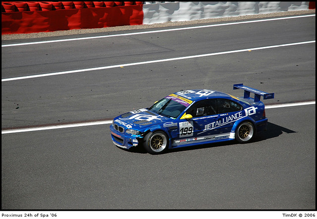 bmw m3 gtr 24hspa2006 racealliancemotorsport