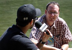 Query (Doug Murray (borderfilms)) Tags: tv sunday july 2006 interview wt calgaryfolkfestival w7 borderfilms cdougmurray brenttoombs wwwstockphototipscom wwwroadspillorg