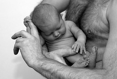 Safe (Dutch Design Photography) Tags: portrait hairy baby art feet face kids duck eyes hand chest father bubbles pregnant pop