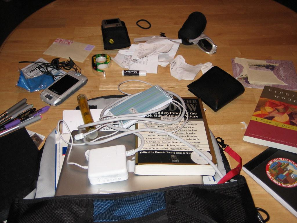 Bag Contents, 8/2/06