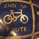end of route
