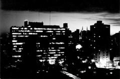 (amaia*) Tags: city light bw 15fav byn film latinamerica argentina argentine night buildings lafotodelasemana luces noche edificios nocturnal pentax ciudad aerial bn latinoamerica pentaxk1000 nocturna analogue forzado pushed forced nuit ilford amaia analogica espaol laplata aerea ilfordhp5plus analogical 3200asa peliculaforzada lfsnocturnas lfspelicula