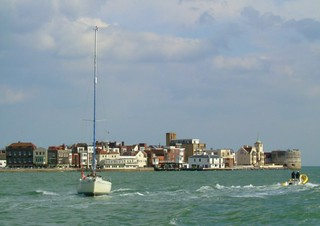 View from the Gosport Ferry
