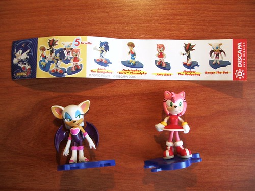 Figuras de Sonic X