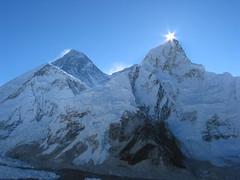 before the sunrise (Buzia) Tags: nepal sunrise everest mteverest mountainshimalaya elevation85009000m summitmteverest altitude8844m abigfave worldshighestmountain