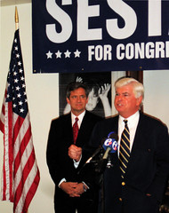 Dodd and Sestak in Media, PA (EAWB) Tags: election politics rally democrats dodd august2006 sestak