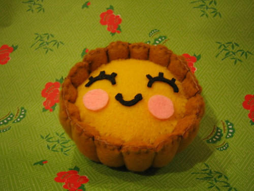 Egg Tart Plushie | Flickr - Photo Sharing!