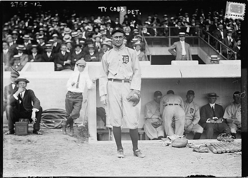 Ty Cobb by farlane, on Flickr