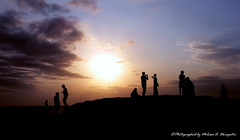 Sunset at Tanah Lot (M3L13) Tags: sunset sea bali beach weather indonesia any tanahlot sunshots indonesiaphotobloggers sunshotsanyweather indonesiaimages sunshotsinanyweather