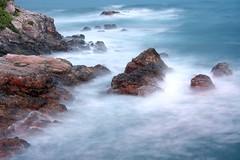 efecto niebla (Victor Iglesias) Tags: mar asturias gijon asturies