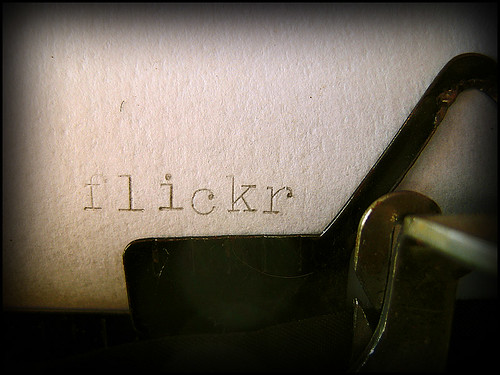 flickr typewriter typo?! by bıtzı