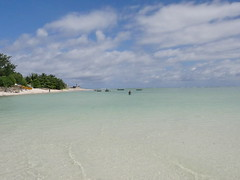 Kiribati is paradise - but there are dangers such as rising sea levels, pollution and that there are no investment that lurks!