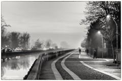 Trezzano sul naviglio (maurosalvagnini) Tags: milano italy naviglio blackandwhite river