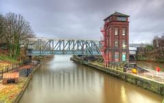 Barton Swing Aqueduct (Jeffpmcdonald) Tags: bartonswingaquaduct salford greatermanchester uk manchestershipcanal bridgewatercanal nikond7000 jeffpmcdonald dec2016