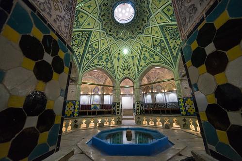 Iran -Kashan - Public Bath