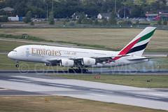 Emirates Airbus A380-800 A6-EDZ (atcogl - ATC @ YYZ) Tags: toronto ontario canada airplane aircraft jet super landing emirates airbus a380 heavy airliner pearson yyz widebody a380800 cyyz a388 a6edz