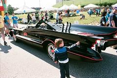 Batmobile on Display at the Inner Harbor (Bill A) Tags: harbor baltimore inner batmobile