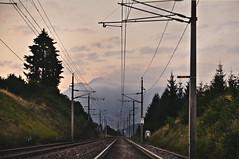 What's wating ahead? (b_represent) Tags: alps landscape austria tirol sterreich tracks alpen landschaft tyrol schienen fieberbrunn