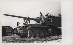 Maintenance on a Self-Propelled Gun, 1968 (Marine Corps Archives & Special Collections) Tags: marine war vietnam corps artillery marines