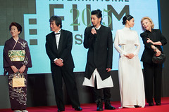 "Casts & Crew from ""Foujita"" at Opening Ceremony of the 28th Tokyo International Film Festival"