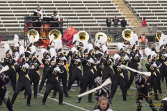 Towson vs. Univ. of Delaware (Oct. 31st, 2015) (ElizabethAOwens) Tags: music game color fall college halloween sports students season drums dance football team october play singing dancing bass guitar stadium live tiger unitedstatesofamerica guard livemusic performance band guitars trumpet saturday maryland flute flags marching johnny trombone delaware marchingband halftime piccolo instruments brass tu 31 cymbals encore clarinet drill sousaphone collegiate flutes cymbal unitas onfire colorguard drumline postgame towson tumb lowbrass universityofdelaware drummajor mellophone 2015 liveevent woodwinds towsonuniversity piccolos piccs frontensemble cymballine liveeventphotography towsonuniversitymarchingband johnnyunitasstadium