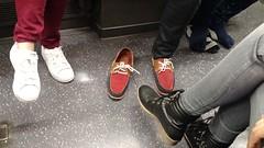 Footloose (chutney bannister) Tags: carriage tube londonunderground footloose tubefeet londonist
