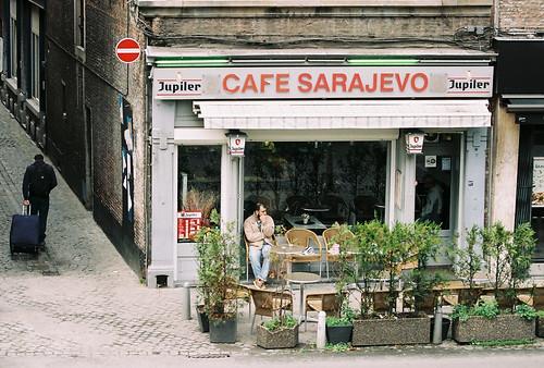 La Wallonie (analog) - Cafe Sarajevo