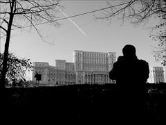 Bucharest - Parliament (black and white) (Vincent Christiaan Alblas) Tags: romania bucharest casapoporului românia palatulparlamentului palaceoftheparliament bucurești nicolaeceausescu ancapetrescu palaceoftheparliamentbucharest parliamentromania