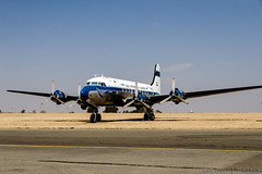 DC 4 (14) (Indavar) Tags: plane airplane airshow chipmunk mustang albatros rand beech at6 radial an2 p51 l39 antonov dc4 dhc1 beech18 t28trojan b378