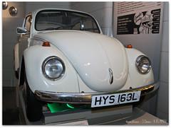 VW Beetle 1300 (zweiblumen) Tags: uk vw volkswagen scotland alba glasgow beetle 1972 1300 glaschu polariser canoneos50d zweiblumen riversidemuseum canonspeedlite430exii hys163l