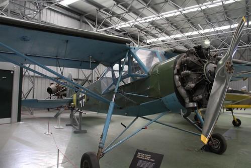 Morane Saulnier MS 505a Criquet (Storch) G-BIRW