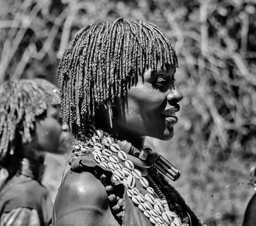 Ceremony Dancers, Hamer, Ethiopia