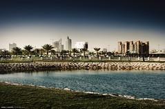 Khobar City (Bakar_88) Tags: city reflection skyline reflections construction nikon asia cityscape gulf saudiarabia lightroom ksa cityplanning khobar alkhobar nikond90 arabgulf andrewashenouda