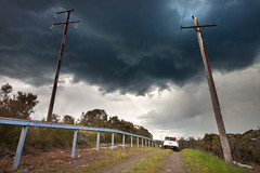 Storm Chaser || BLUE MOUNTAINS || NSW (rhyspope) Tags: road new wood blue sky cloud storm mountains weather wales canon spring blackheath south sigma australia aussie 1020 katoomba severe leura 500d springwood