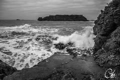 Vagues au pied de Saint-Malo (guillaume_roger_aussant) Tags: mer white black de grande nikon rocks eau noir novembre au explosion bretagne breizh roger guillaume pied vague vagues et blanc saintmalo rochers haute maree bzh cume ecume mare ileetvilaine lcher d7100 cumes ocean aussant guillaumerogeraussant