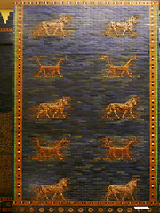 Mušḫuššu and Auroch, Ishtar Gate, Left Tower, Babylon