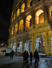 Rome at night (I) (Elisa1880) Tags: italy rome roma night italia colosseum avond italie lazio colosseo latium