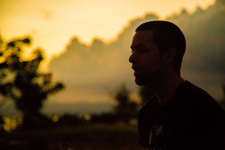 Anti-Torture Activist Luke Nephew at Sunset in Cuba