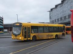 trent barton 664 Derby (Guy Arab UF) Tags: bus buses station solar derbyshire trent barton wright derby scania villager 664 l94ub wellglade wellgladegroup fn54aec